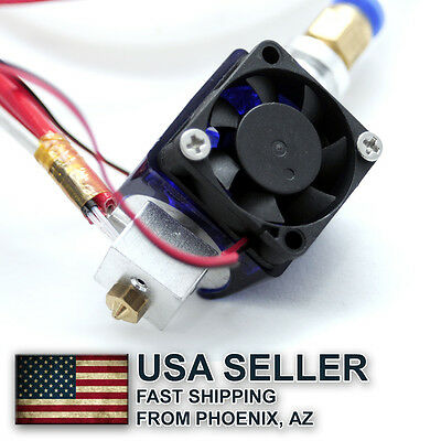 3D Printer E3D V5 J-head Hotend 3mm Bowden Extruder nozzle size choise - USA