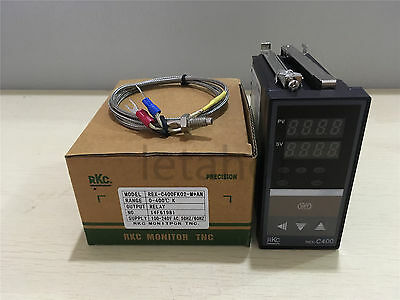 PID Temperature Controller REX-C400 Relay/SSR Output + K Type Thermocouple