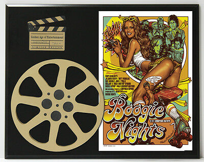 Boogie Nights With Mark Wahlberg Limited Edition Movie Reel Display