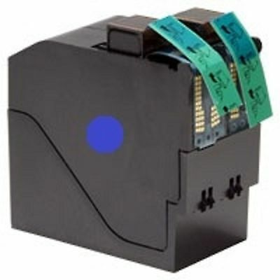 IS460 / IS480 High Volume Replacement Neopost 310051 Blue Franking Ink Cartridge