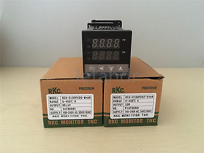 Digital PID Temperature Controller REX-C100 Thermocouple Input SSR/Relay Output