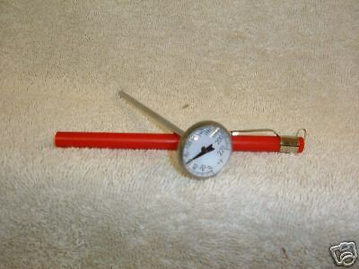 Pocket Thermometer 0 to 220 F., HOBART PRODUCT Thermometer