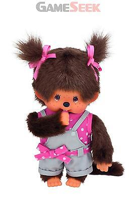 Monchhichi Pink Dot Ribbon Girl - Games/puzzles Brand New Free Delivery