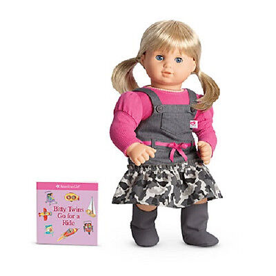 """American Girl BT BITTY TWIN CAMO JUMPER OUTFIT for 15"""" Baby Doll Camoflauge NEW"""