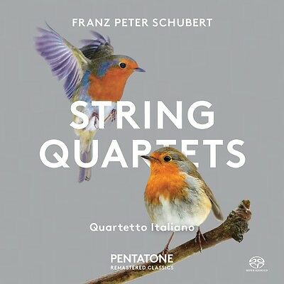 Quartetto Italiano - Franz Peter Schubert: String Quartets