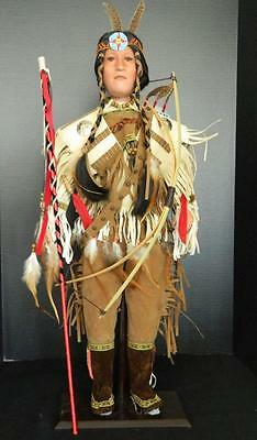 Timeless Collection Lightfoot Indian Doll Limited Edition Porcelain NIB 26""