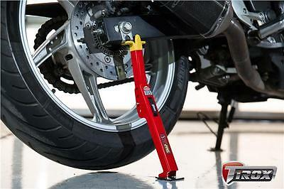 Motorcycle Motorbike SnapJack Bike Jack wheel Stand portable Cleaning Lube Tool