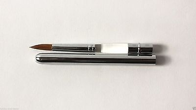 RETRACTABLE TRAVEL POCKET BRUSH KOLINSKY SABLESize 5 Acrylic  Modeling Roubloff