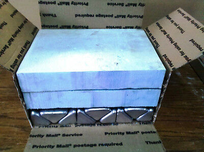 ALUMINUM INGOTS.    14 +  lbs  8 to 10 ingots   made from casting alloy