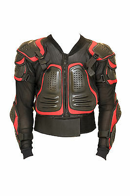 Body Armour Motorcycle Motorbike Motocross Guard Protector spine  Bionic Jacket