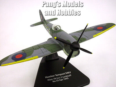 Hawker Tempest 1/72 Scale Diecast Metal Model by Oxford