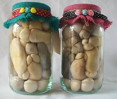 PICKLED WILLIES * Unique Funny Retro Adult Gift * Handmade Mens Womens Present