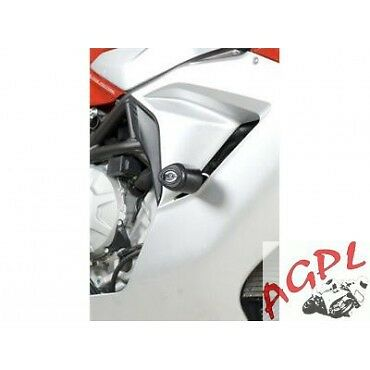 Mv Agusta-675 F3-12/15-Paire Protections Tampons R & G-446655