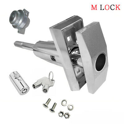 Vending T Handle + Pop up Tubular Lock  Vendo replacement Snack Size 1