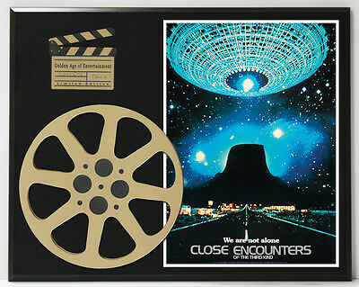 Close Encounters Of The Third Kind Dreyfuss Limited Edition Movie Reel Display