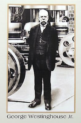 George Westinghouse American Electrical Pioneer & Inventor Signed Letter 'Rare'