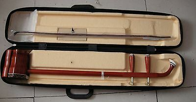 Chinese Musical Instruments   Red rosewood  erhu + Erhu hard box