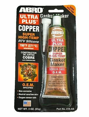 Exhaust Sealant Ultra Plus Copper Rtv Silicone - Sensor Safe & High Temp