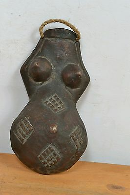 Amazing African stomach  Mask from DR Congo