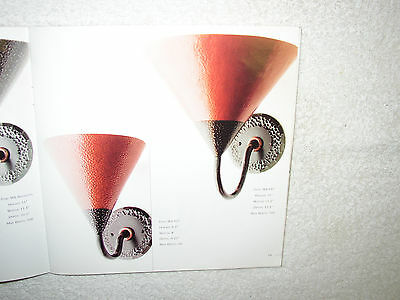 Art Deco Hand Hammered Copper & Steel Wall Sconce Signed Bernard Collin