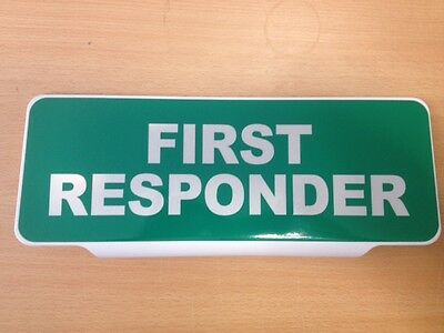 COASTGUARD RESCUE Mirrored White Text univisor Sign visor Safe Response