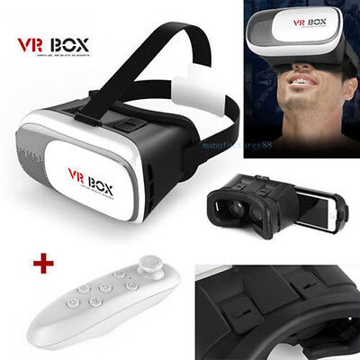 VR-BOX Virtual Reality Headset 3D Glasses For Google Andriod iOS Cardboard Smart