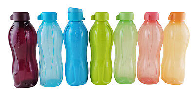 1 x TUPPERWARE Eco Water H2O On-The-Go Drink 500ml Bottle - Choose Yr Color
