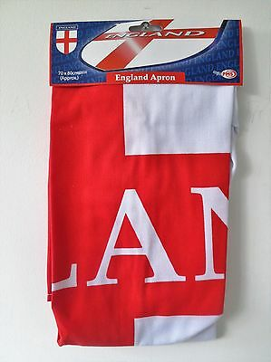 England Apron EURO 2016 Rugby Supporter Sports Events BBQ Cooking Kitchen Aprons