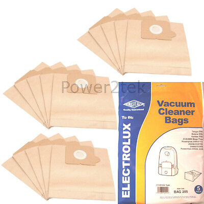 15 x E53 Dust Bags for Electrolux ZCE2000 ZCE2200 Vacuum Cleaner