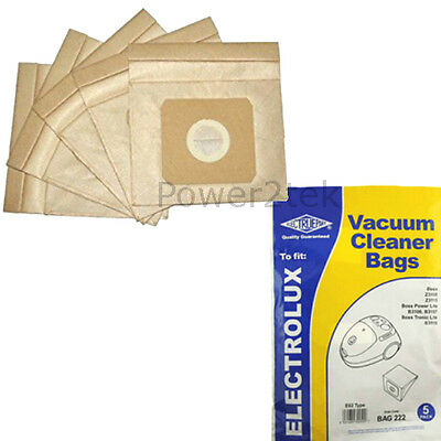 5 x E62, U62 Dust Bags for Russell Hobbs 18213 Vacuum Cleaner