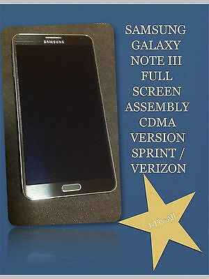 Samsung Galaxy Note 3 Full Screen Repair Full Front Assembly Lcd,Digitizer,Frame