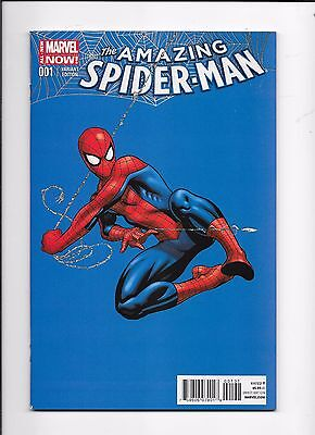 Amazing Spider-Man #1 McGuinness 1:75 Variant Cover Marvel Comics (2014)