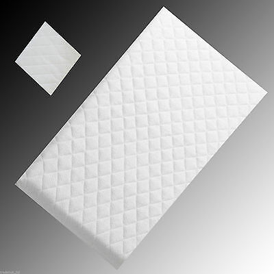 Baby Cot Mattresses Quilted Foam Junior Bed Cotbed  FullyBeathable  Zip Cover