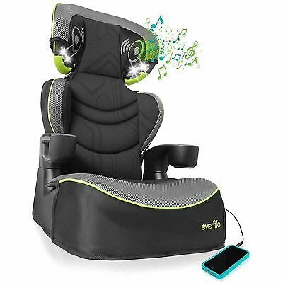 Evenflo Big Kid DLX High Back Booster Car Seat, Jonah