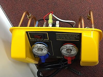 Appion, Parts, G5 TWIN, FRONT YELLOW PANEL, FOR G5 TWIN, RECOVERY UNIT