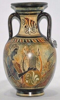 Classic Period 500 B.C. Vase- Ancient Greece - National Museum Of Greece Replica
