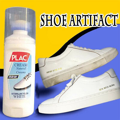 75ml Magic Refreshed White Shoes Trainer Boot Cleaner Cleaning Useful Tool Kit