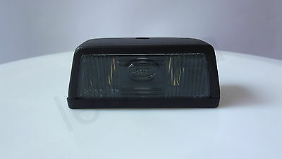 1x Black Rear Tail Number Plate Lamp Light 12V/24V Truck Lorry Trailer Bus 1x5W
