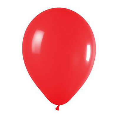 25 x 10 inch Latex Red Wedding Balloons S*
