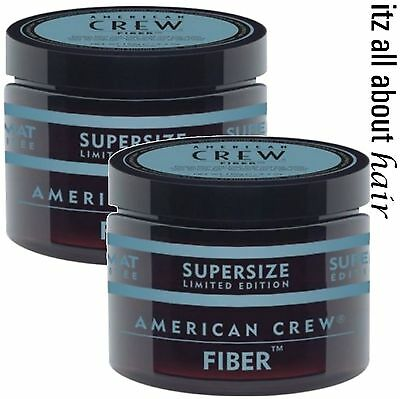 American Crew Fiber Supersize 150g Duo Pack 2 x 150g Tubs