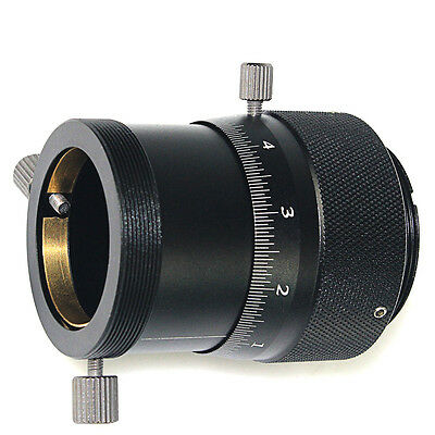 """New Black High Precision Double Helical Focuser for 1.25"""" Telescope/Finder Scope"""