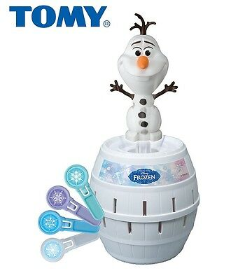Tomy Pop Up Olaf Disney Frozen Classic Childrens/kids Family Game -From 4+ Years