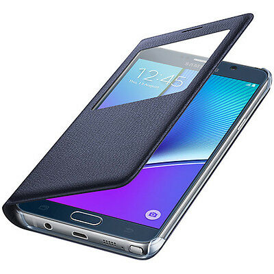 S-View Flip Case Cover & Window Guard For Various Samsung Galaxy Phones