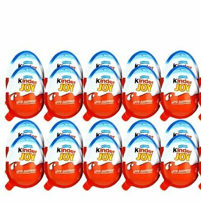 12 x Kinder JOY Surprise Eggs, Ferrero Kinder Choclate Best Gift Toys For BOYS