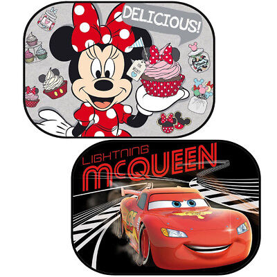 Large Disney Car Window Baby Sun Shades Protectors 60x40cm Minnie Mouse Cars