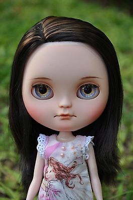 Custom Icy doll - Dark brown hair with light brown highlights #3