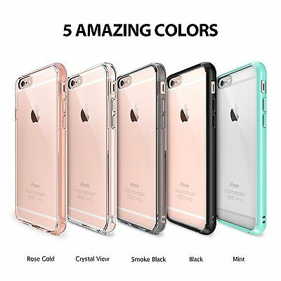 Ringke [Fusion] Crystal Clear PC Back TPU Bumper Case For Apple iPhone 6s/6 Plus