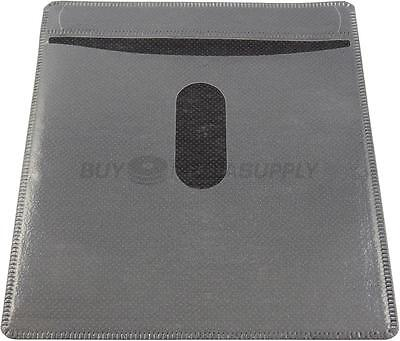 Non woven Black Color Plastic Sleeve CD/DVD Double-sided - 100 Pack