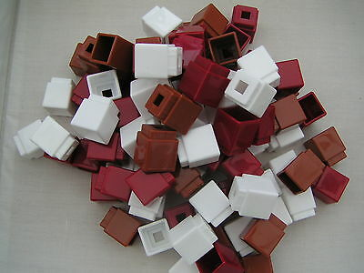 120 Unifix Early Learning Maths Counting Cubes Blocks B