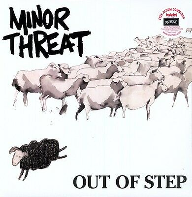 Out Of Step - Minor Threat (2010, Vinyl NEU)